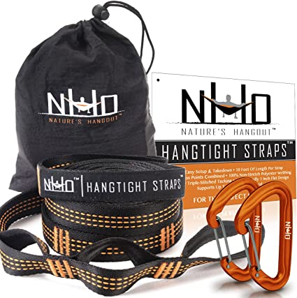 Outdoor Hammock Tied Rope Wear-resistant Ribbon Straps Tied tree protectioYJUS