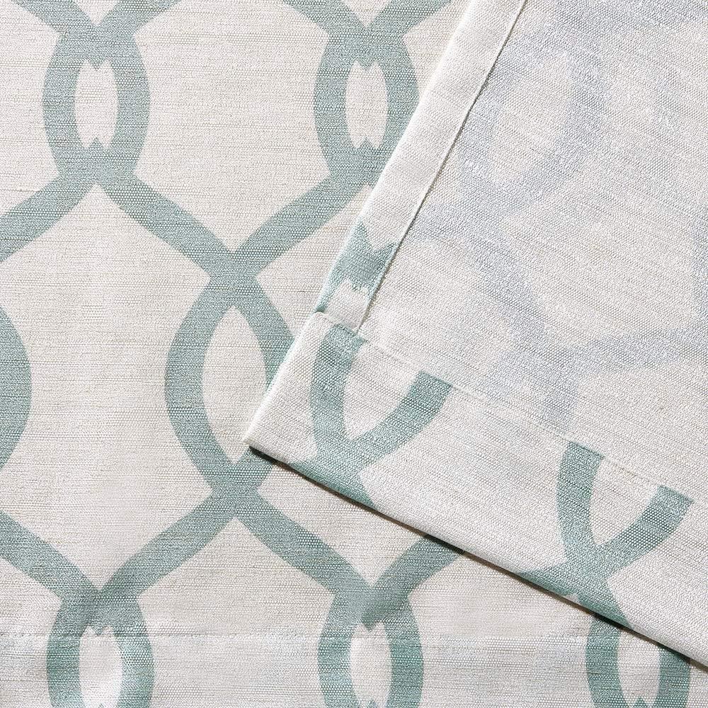63/x 54/x 0.2/cm Exclusive Home Curtains Exclusif Maison Rideaux /œillets en Haut fen/être Panneau de Rideau Paire Bleu Sarcelle Polyester