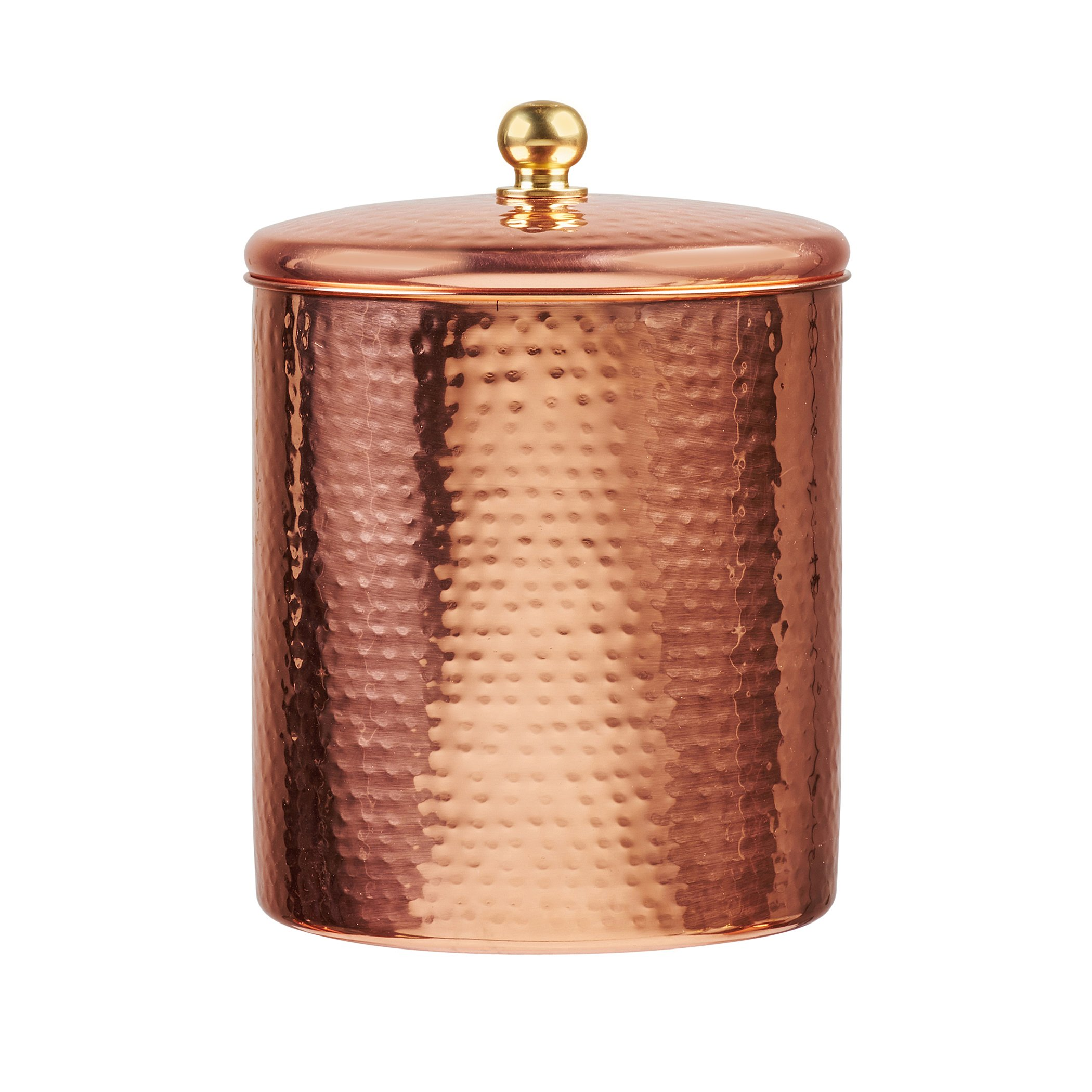 Amici A5AN832R Home Alexandria Copper Canister, Large/64 oz, Copper