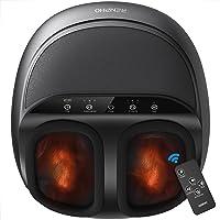 RENPHO máquina masajeador de pies con calor y control remoto, regalos para mamá, amasado profundo Shiatsu, proporciona…