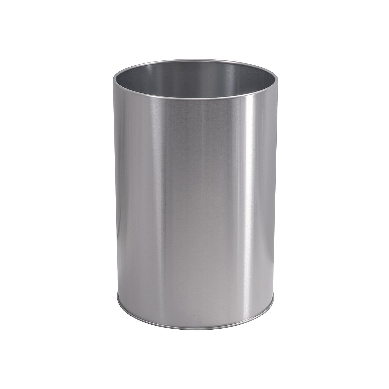 LDR 164 6400BN Ashton Waste Basket, Brushed Nickel - Waste Bins ...