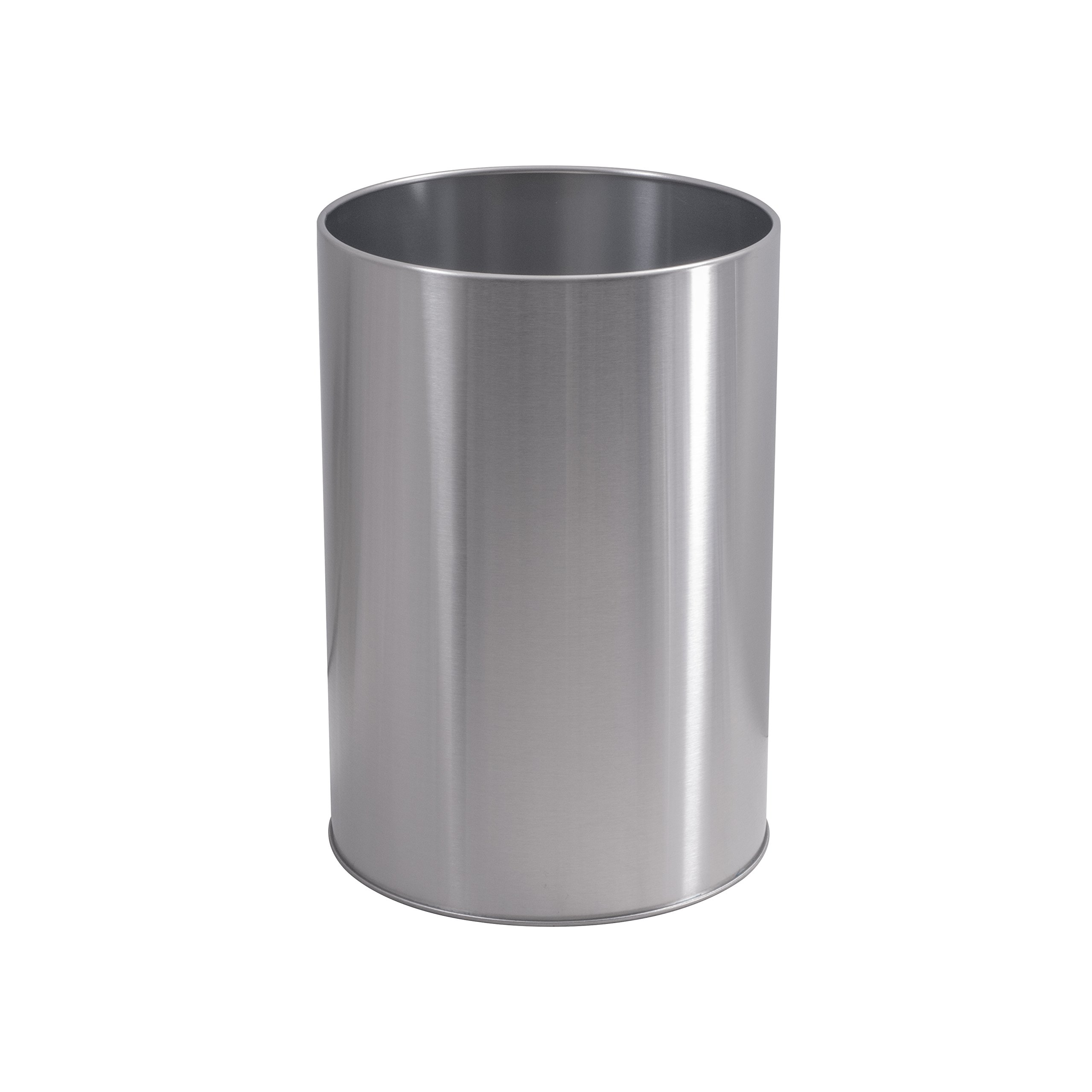 LDR 164 6400BN Ashton Waste Basket, Brushed Nickel