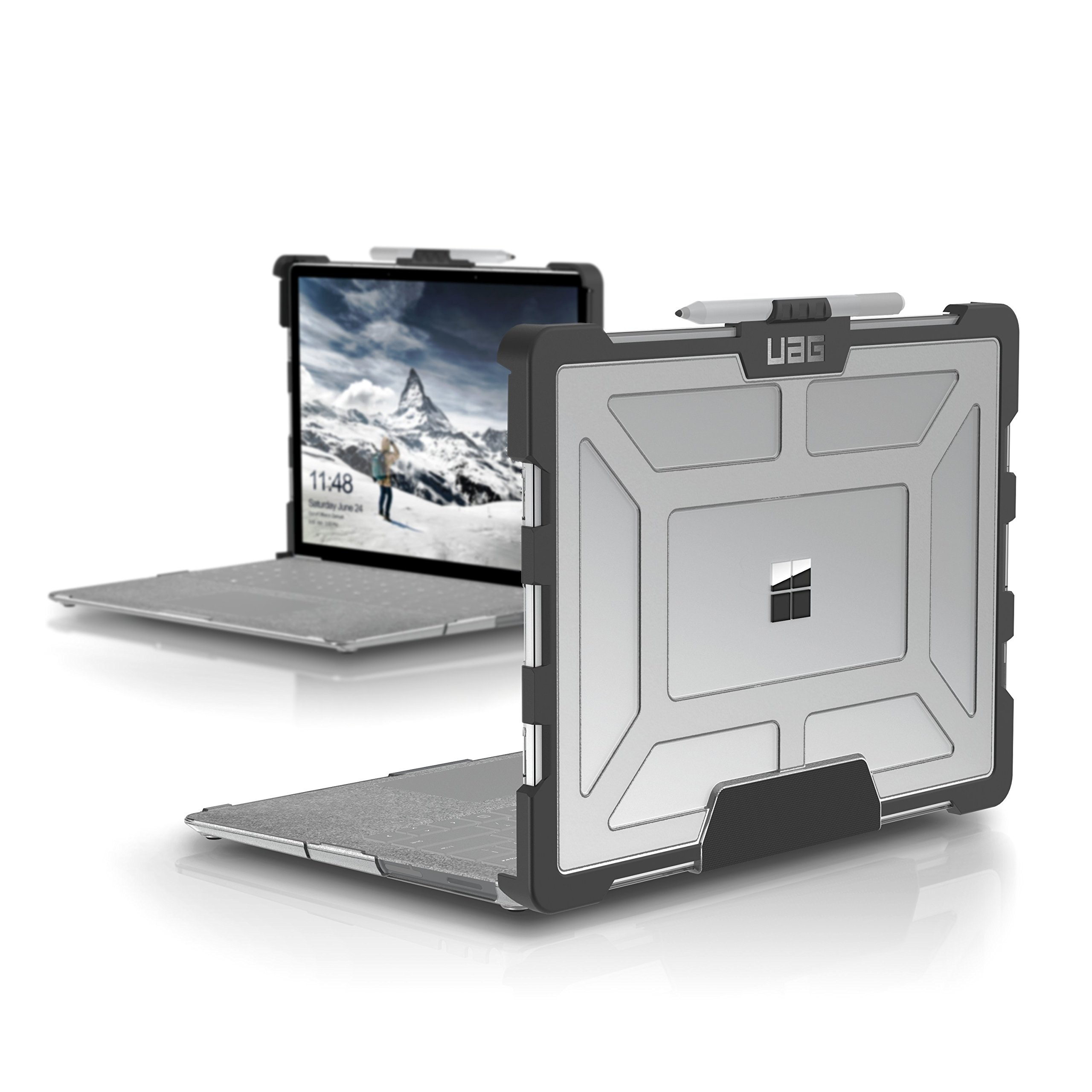UAG Microsoft Surface Laptop 2/Surface Laptop Feather-Light Rugged [Ice] Military Drop Tested Laptop Case by URBAN ARMOR GEAR (Image #1)