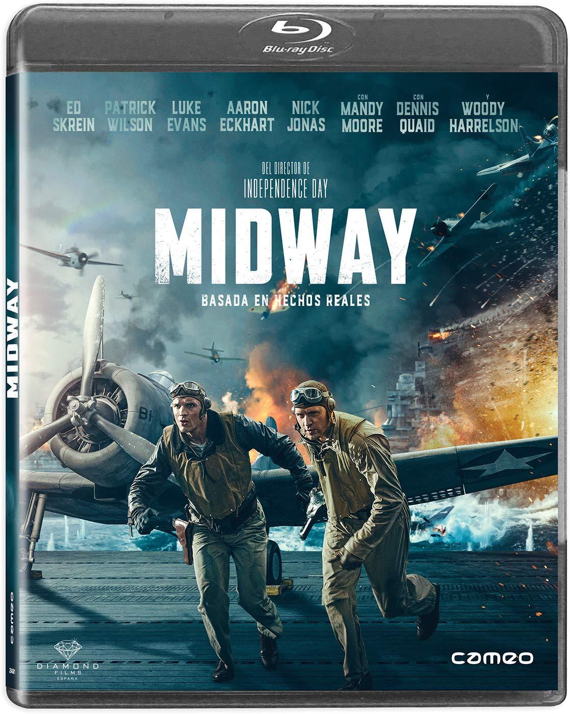 Midway [Blu-ray]: Amazon.es: Ed Skrein, Woody Harrelson, Patrick ...