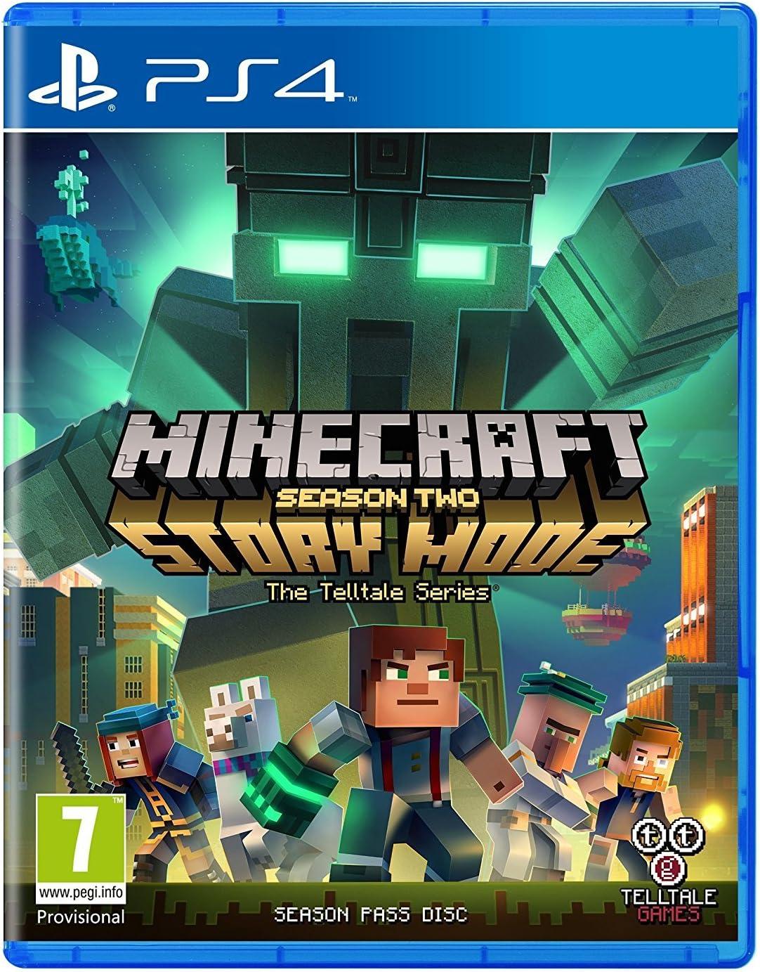 Amazon com: Minecraft Story Mode - Season 2 Pass Disc (PS4