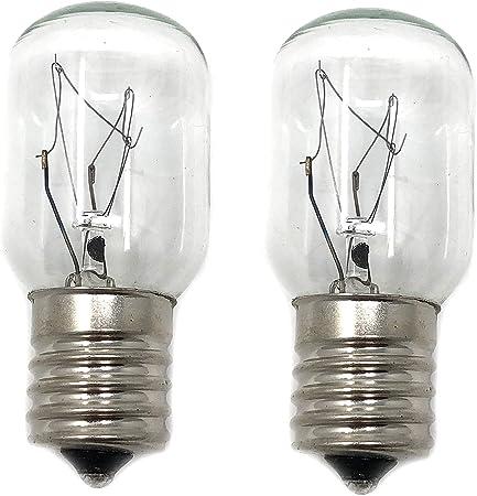 Amazon.com: Whirlpool 8206232A, foco de luz, 2 unidades ...