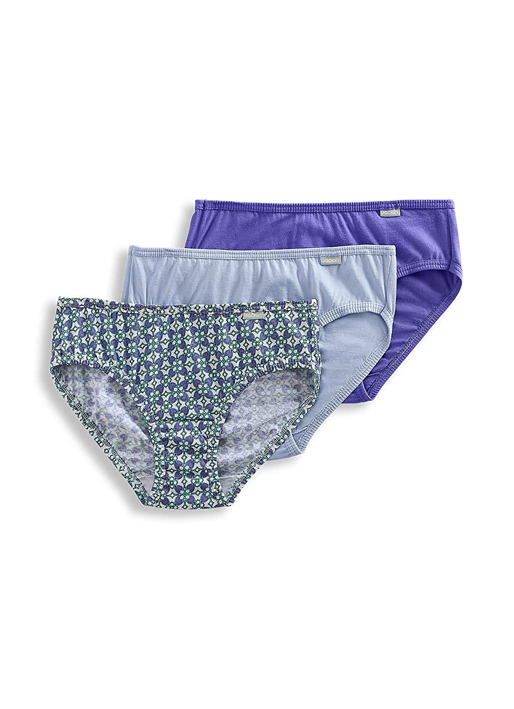 b87d11d0aa55e2 Jockey Women's Underwear Plus Size Elance Bikini - 3 Pack at Amazon Women's  Clothing store: