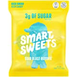 SmartSweets Sour Blast Buddies, Candy with Low Sugar (3g), Low Calorie, Plant-Based, Free From Sugar Alcohols, No…
