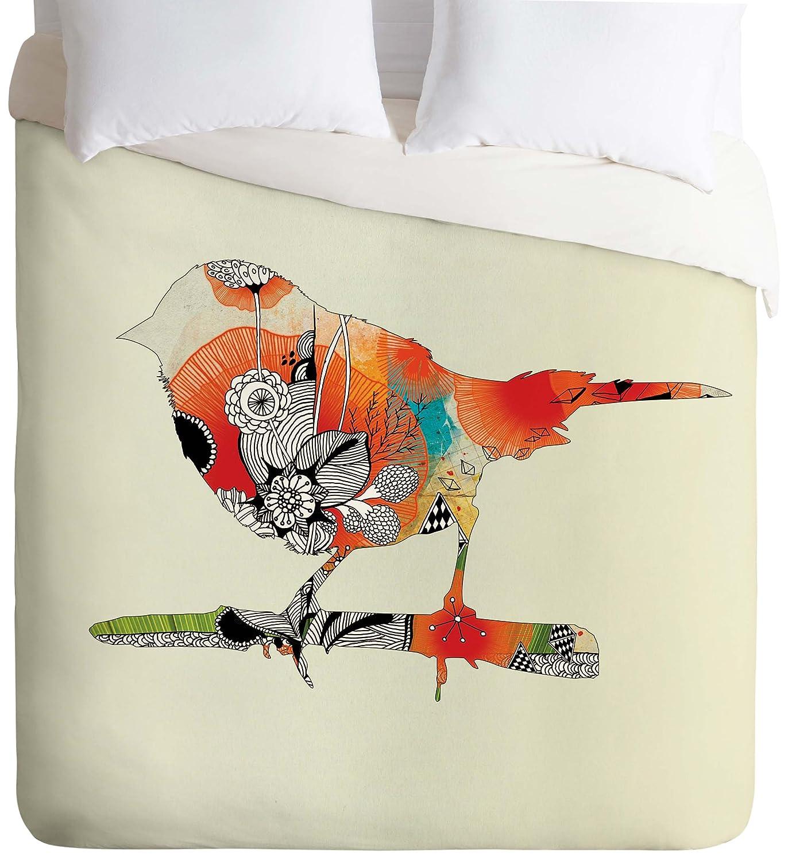 Deny Designs  Iveta Abolina Little Bird Duvet Cover Queen