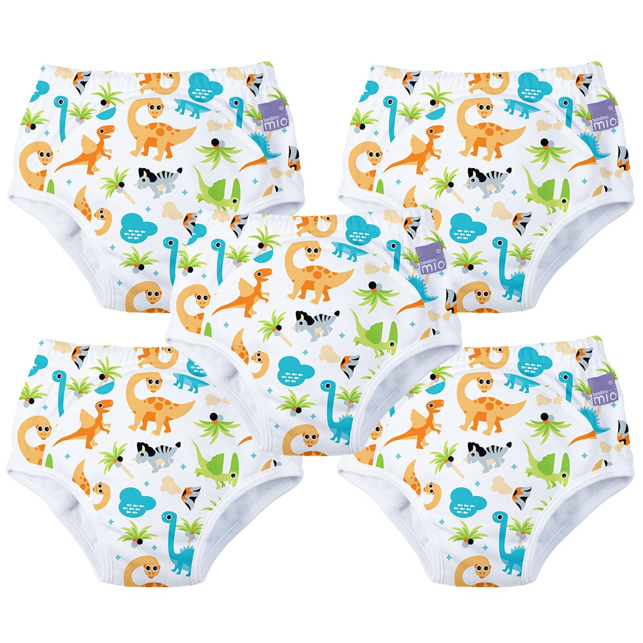 Dino 5 Pack Potty Training Pants 18-24 Months Bambino Mio