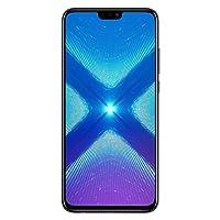 Huawei Honor 8X 64 GB + 4 GB RAM JSN-L23 6.5 Pulgadas HD LTE Smartphone Desbloqueado de fábrica - Versión Internacional, Negro