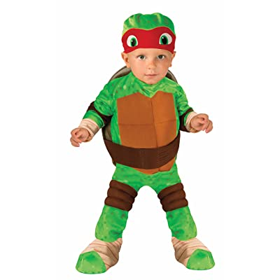 Nickelodeon Teenage Mutant Ninja Turtles Raphael Romper Shell and Headpiece: Clothing