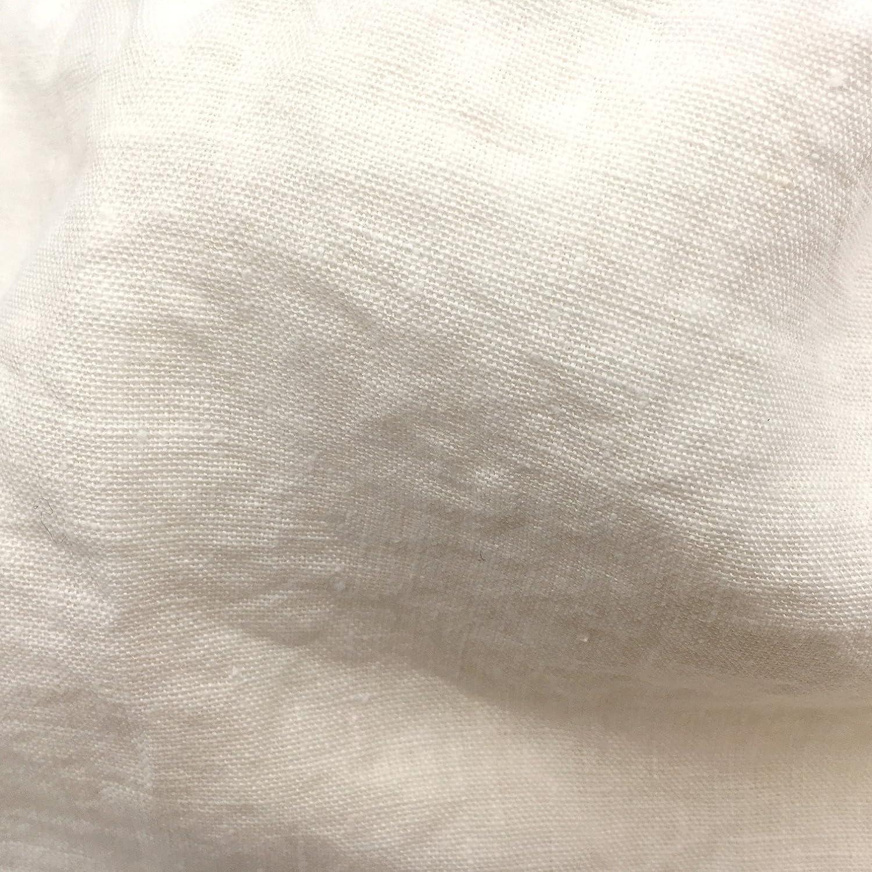Jowollina Spannbettlaken Bettlaken(160x200 + 20 cm), 100% Leinen Stonewashed mit Gummizug (Off Weiß)