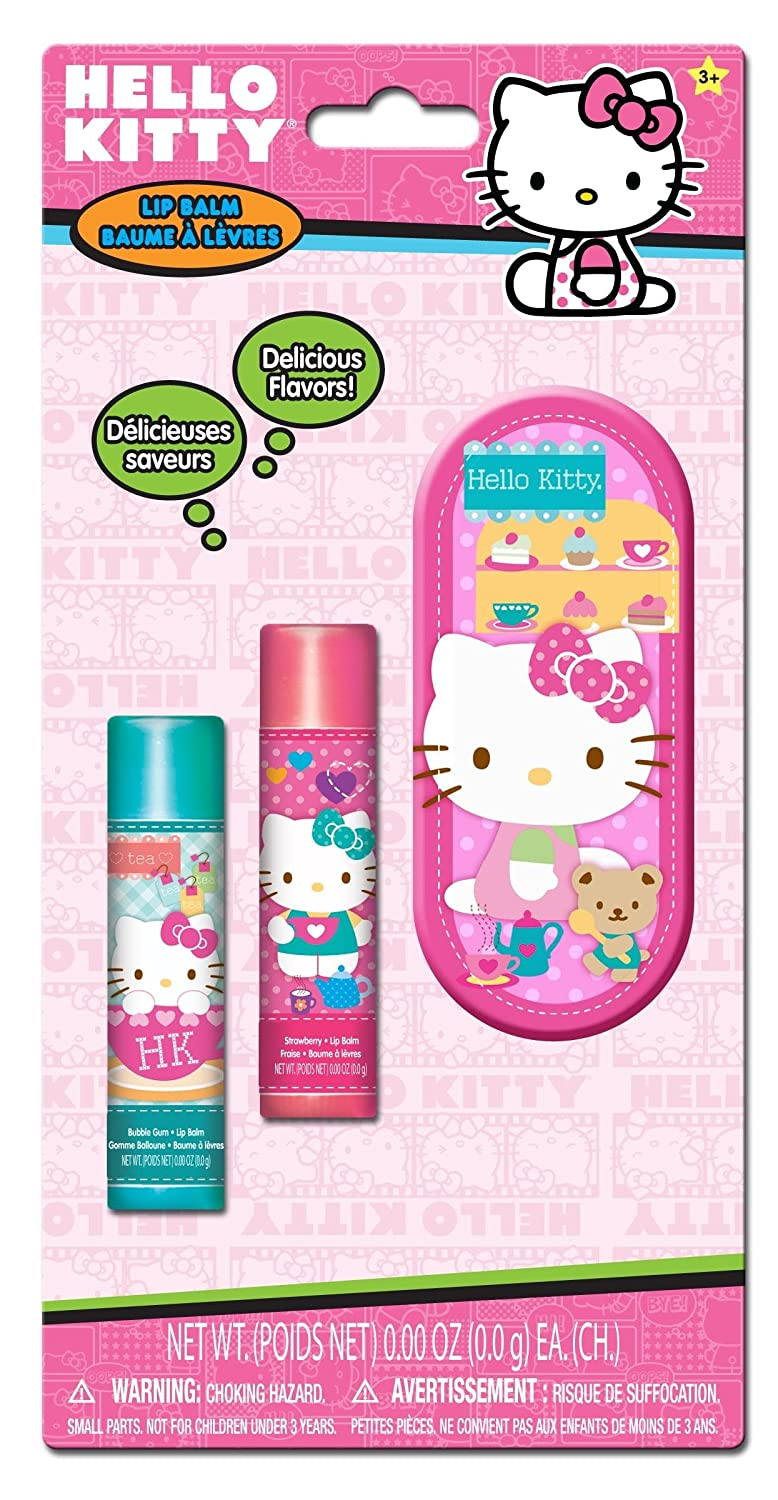 40aac629e hot sale Hello Kitty Lip Balm with Tin, 3 Count - s406263526 ...