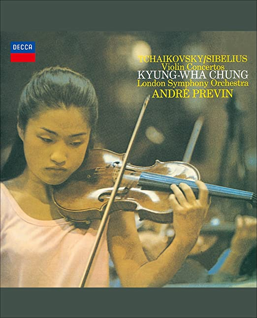 Image result for tchaikovsky sibelius violin concertos kyung wha chung