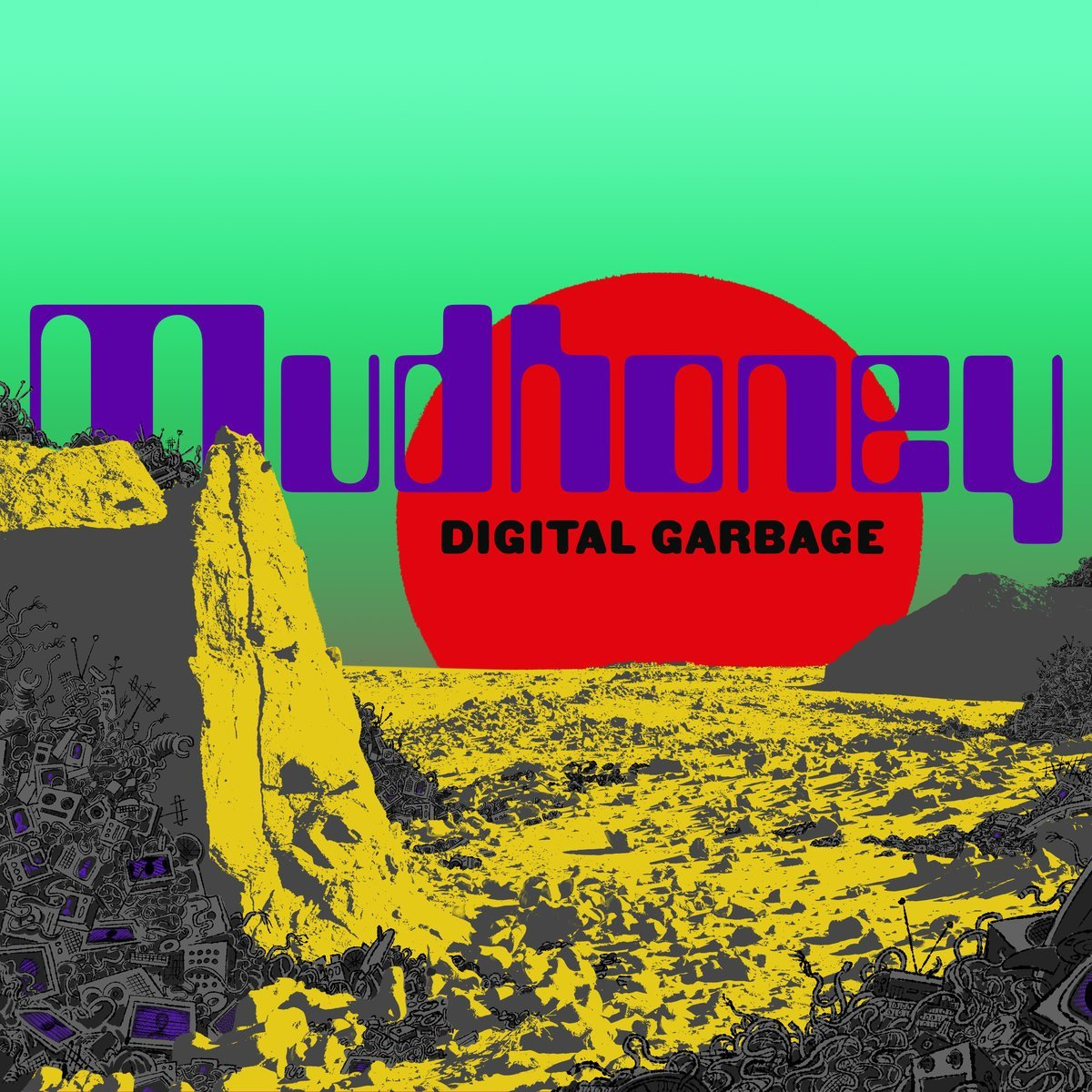 Cassette : Mudhoney - Digital Garbage (Cassette)