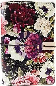"""Prima Marketing Prima Traveler's Journal Personal Size 5""""X7.5""""-Midnight Garden"""