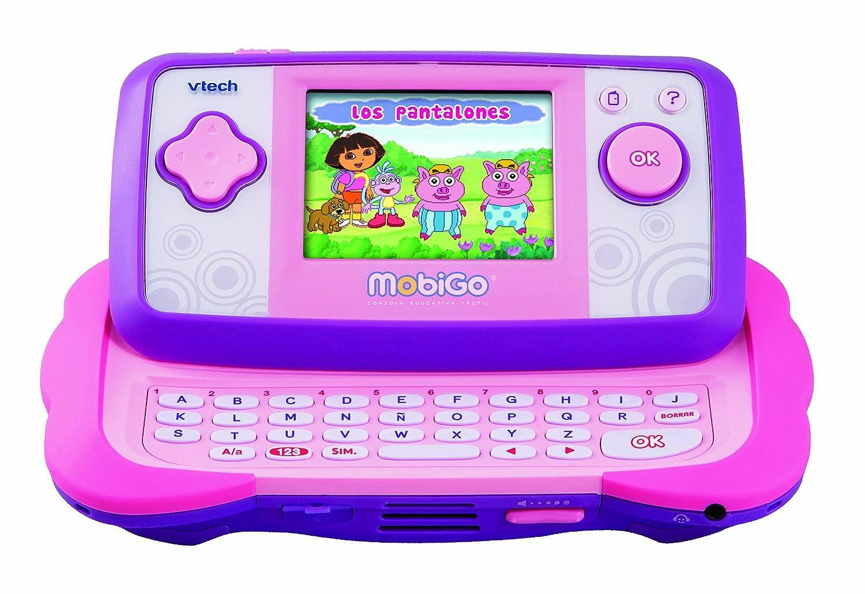 Amazon vtech mobigo tctil sistema de aprendizaje rosa con amazon vtech mobigo tctil sistema de aprendizaje rosa con dora juego toys games voltagebd Image collections