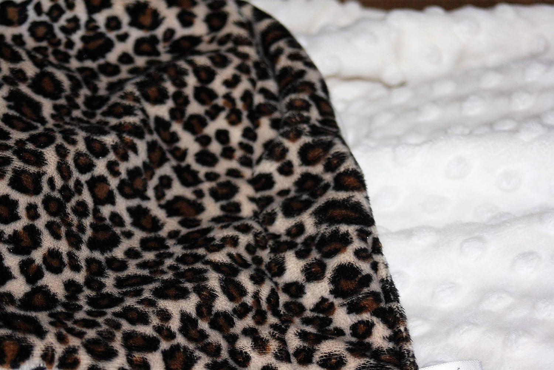 Cream Stars Super Soft /& Fluffy Large Patterned Baby Blanket