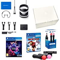 PlayStation VR2 Marvel's Iron Man VR + VR Worlds + Twin Move Controllers + Camera V2