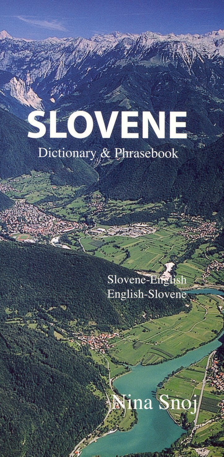 Slovene english english slovene dictionary phrasebook hippocrene dictionary and phrasebook nina snoj 9780781810470 amazon com books