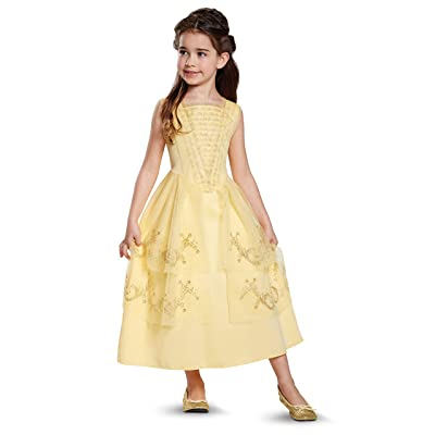 Disney Belle Beauty & The Beast Ball Gown Girls' Costume: Toys & Games