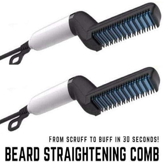 Amazon.com: Plancha para barba para hombres, alisador de ...