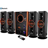 VEMAX PS-5 Eiffel Bluetooth Hi Bass Surround Sound System and Tower Speakers (Copper)