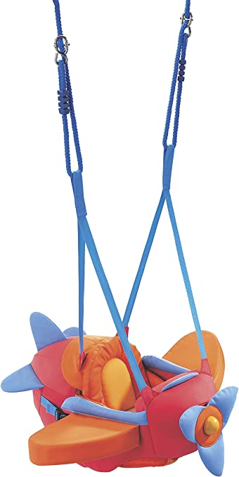 e8d8c0563 Amazon.com   HABA Aircraft Swing Indoor Mounted Baby Swing with ...