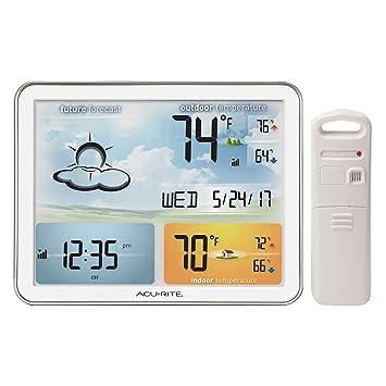 AcuRite 02081M Home Weather Station With Jumbo Display U0026 Atomic Clock