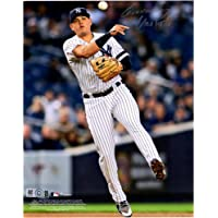 """$47 » Gio Urshela New York Yankees Autographed 8"""" x 10"""" Throwing Photograph - Fanatics Authentic Certified"""