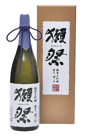 磨き二割三分 木箱入り 純米大吟醸 1800ml /(だっさい/) 獺祭