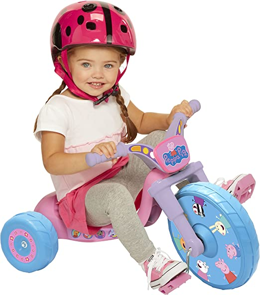 """Amazon.com: Triciclo """"Fly Ride on Tricycle"""", Peppa Pig ..."""
