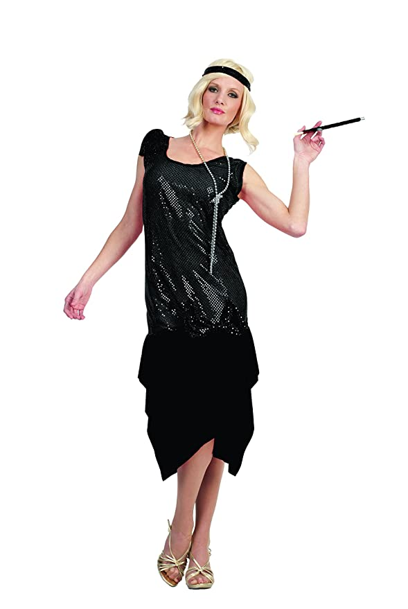 1920s Style Dresses, Flapper Dresses  Rag Time Flapper $11.41 AT vintagedancer.com
