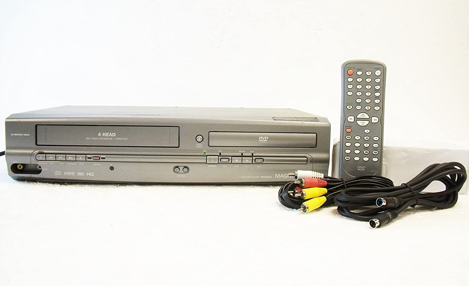Magnavox Mwd2205 Dvd Vcr Combination Player Electronics Working Of Digital Versatile Disc
