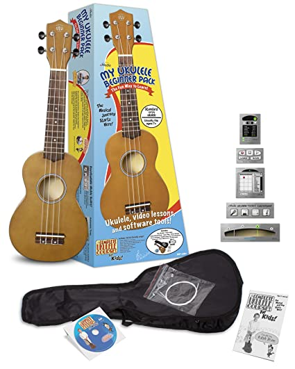 Amazon Emedia My Ukulele Beginner Pack For Kids Soprano