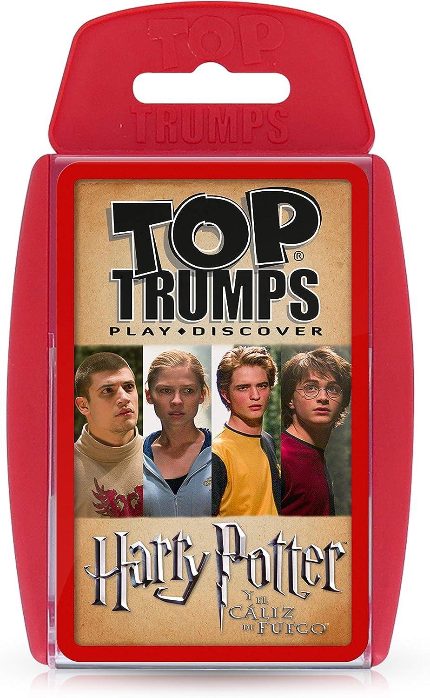 HARRY POTTER Trumps Harry Potter y el Caliz de Fuego, rojo (ELEVEN FORCE 1)