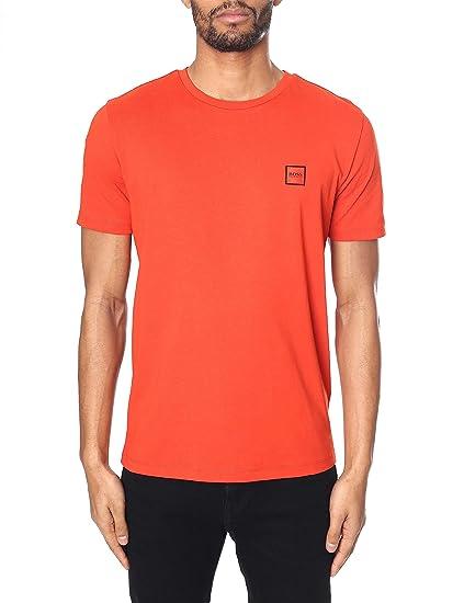 b83f64fb BOSS Orange Tales Plain T-Shirt Burnt Orange 805 50389364: Amazon.co.uk:  Clothing