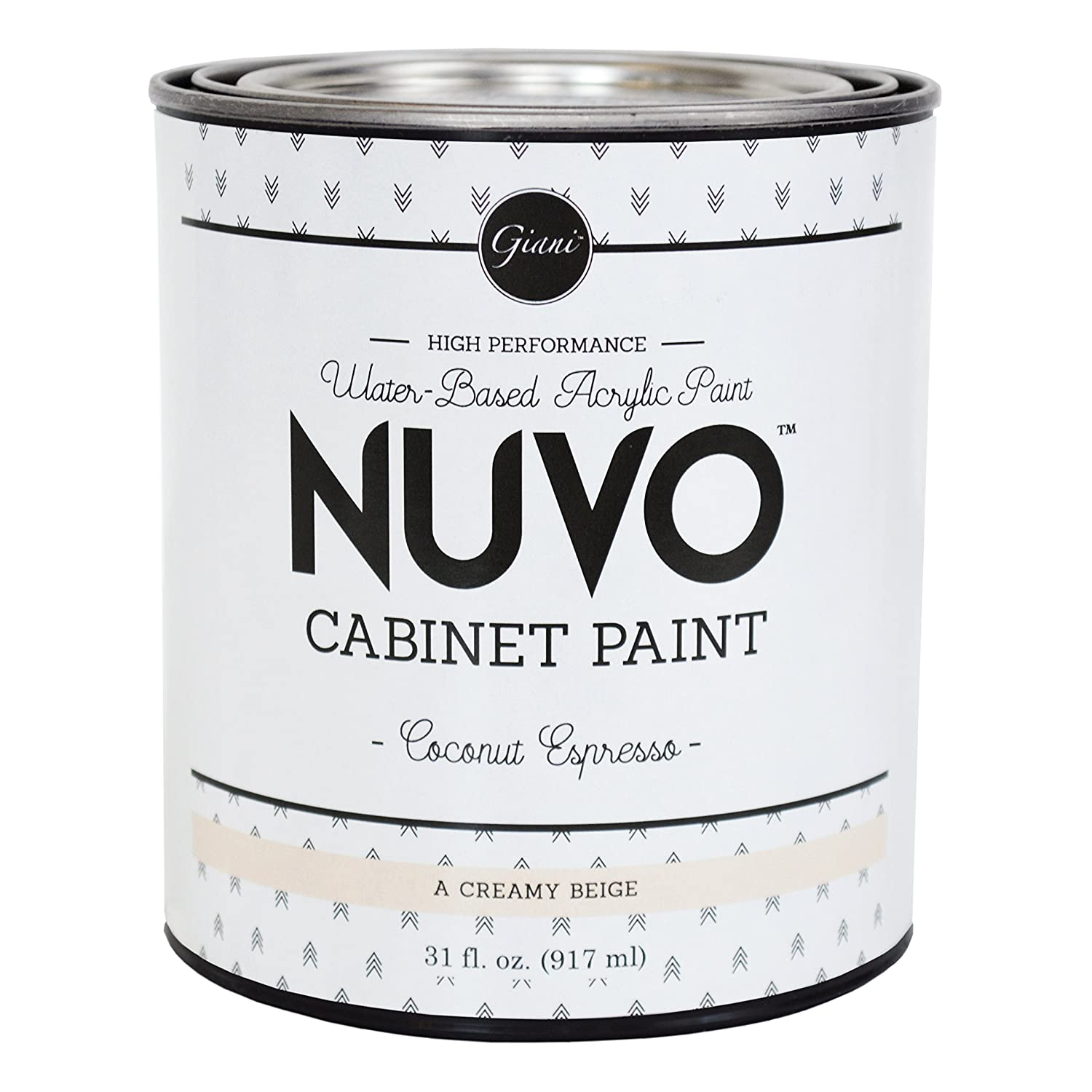 Nuvo Coconut Espresso Paint for Kitchen Cabinet