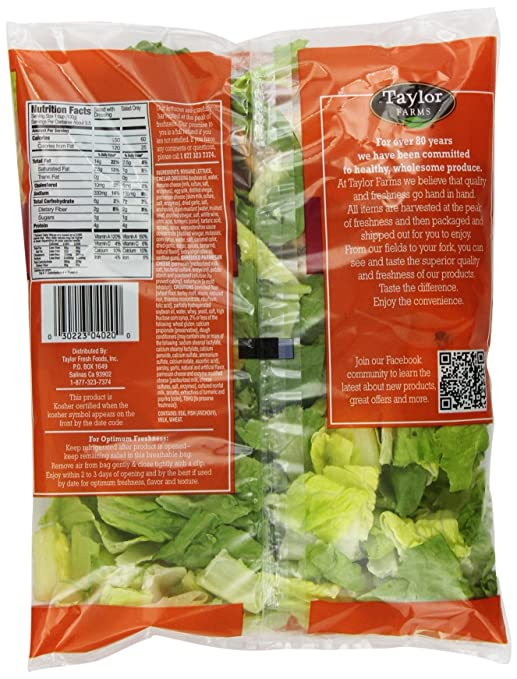 Taylor Farms Caesar Kit, 8 oz Bag
