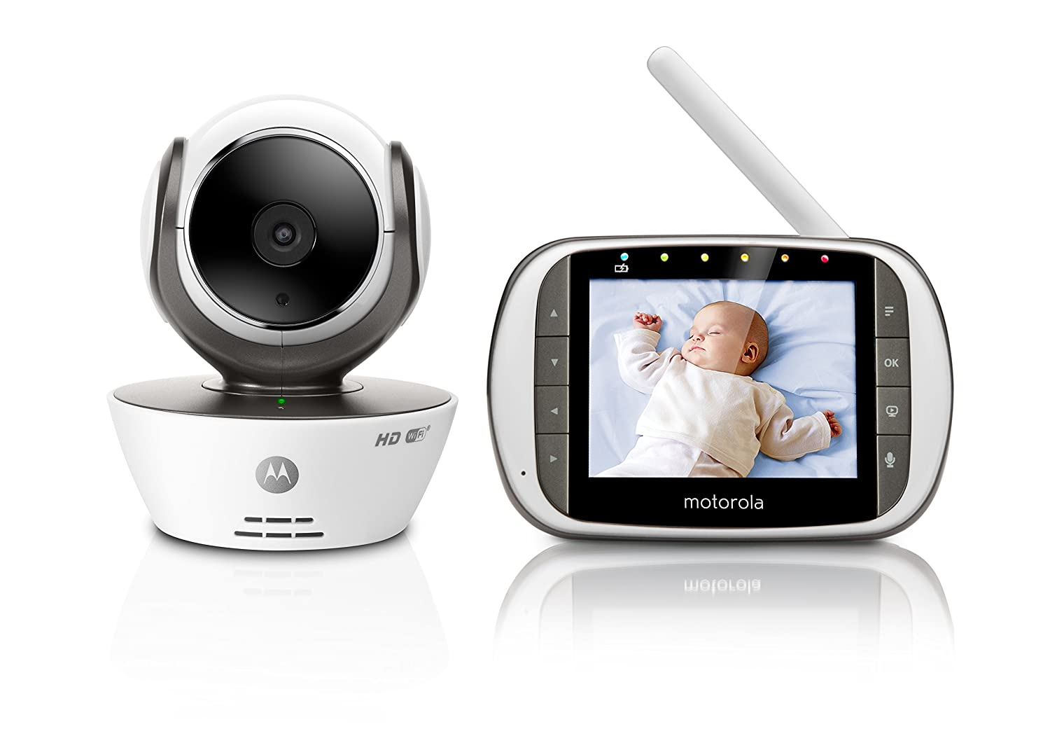 Motorola MBP853 Connect Wi-Fi HD Video Baby Monitor 1002630