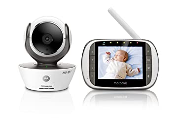 Motorola MBP853CONNECT Video Baby Monitor with 3 5
