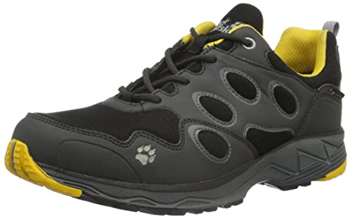 Jack Wolfskin Men's Venture Fly Texapore M Low Rise Hiking Shoes, Grey (Burly  Yellow