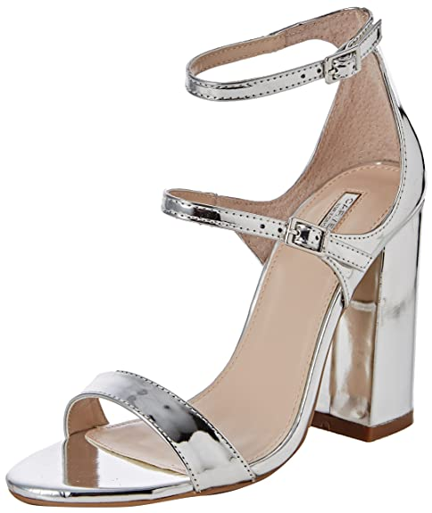 Carvelagenetic Tacco silver Scarpe Con Donna Argento qqR0Ow