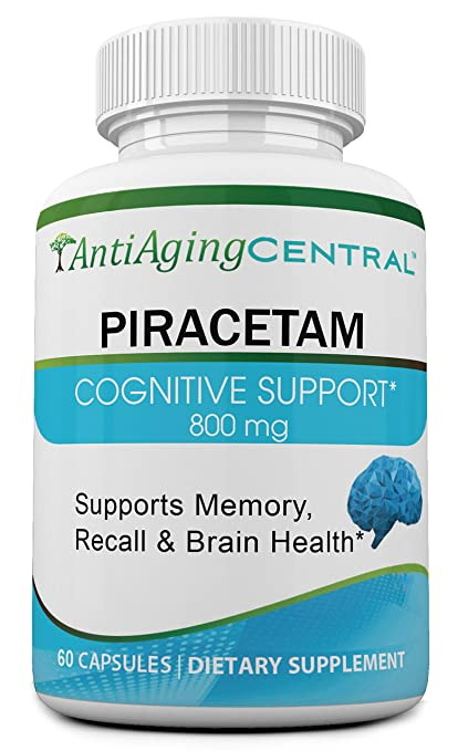Piracetam 800 Mg The Original Racetam 60 Capsules Amazon Ca