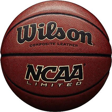Wilson WTB06589XB07 Balón de Baloncesto, Ncaa Limited Blma, Uso ...