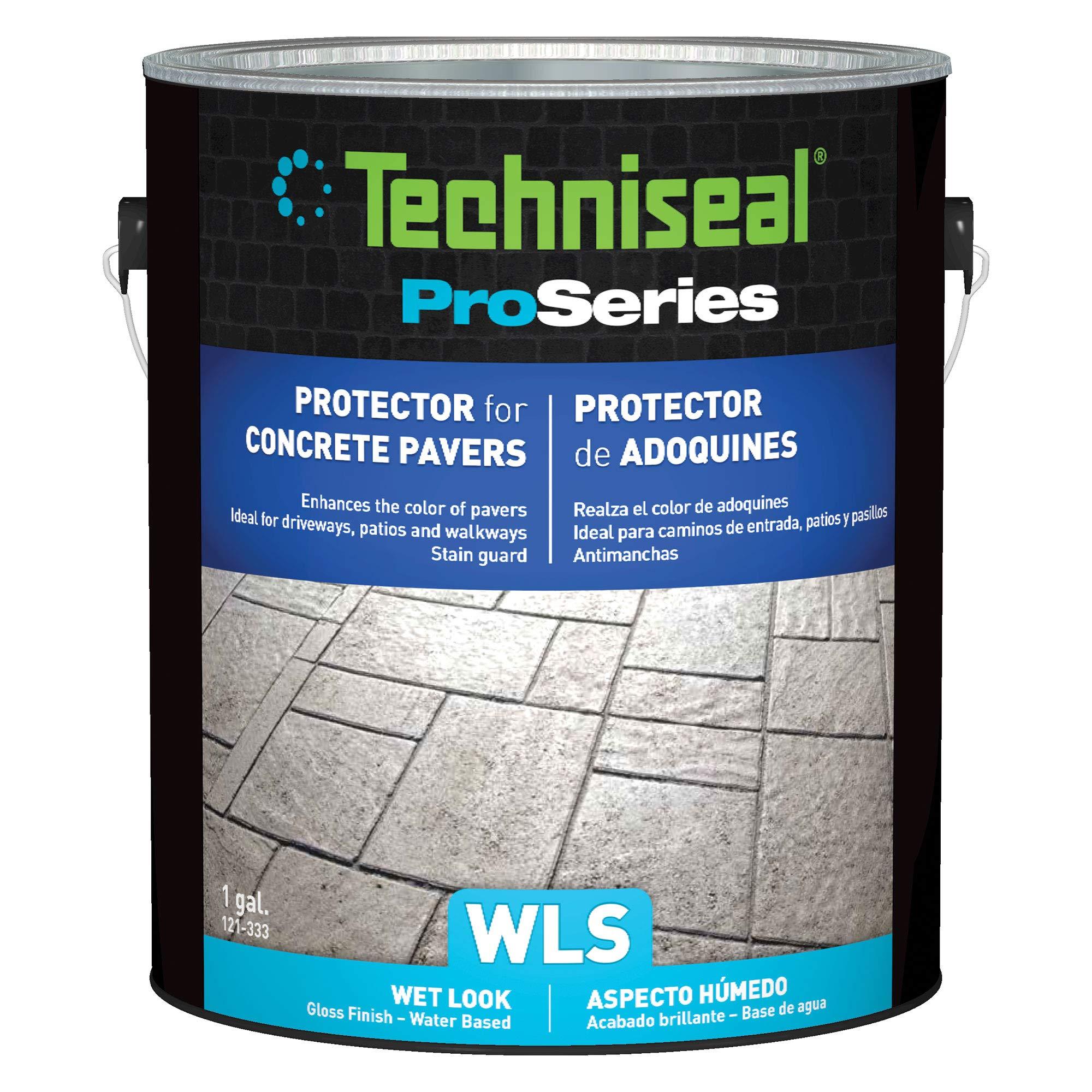 Techniseal WLS Sealer | Concrete Paver Sealant | Wet Look Finish (1 Gallon)