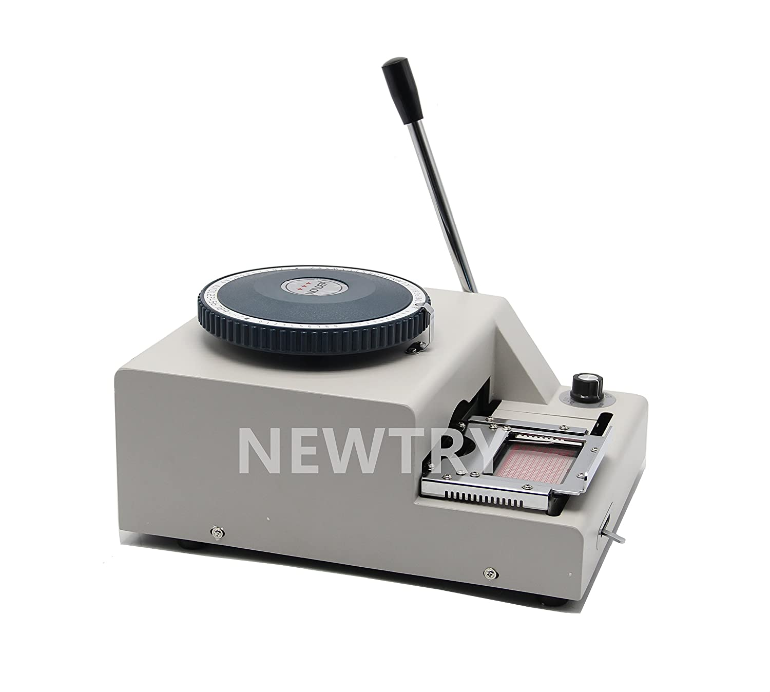 Craft Supplies NEWTRY Manual 75 Characters Embossing Machine ...