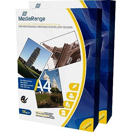 mrink107 DIN A4 Papel fotográfico para impresora de inyección de ...