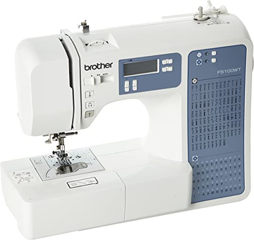 Máquina de coser Brother FS100WT - Quilting y Patchwork: Amazon.es: Hogar